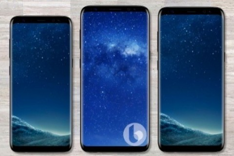 Galaxy Note 8 Render Görselleri