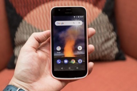 Uygun fiyatlı Android'li<strong> Nokia 1</strong>'i kutusundan &ccedil;ıkardılar