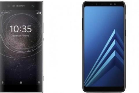 Galaxy A8 Plus ile Xperia XA2 Ultra'nın parmak okuyucu hız testi