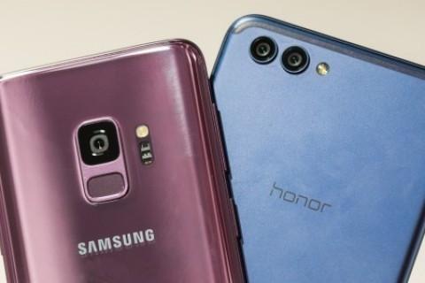 <strong>Honor 10&nbsp;</strong>ve&nbsp;<strong>Galaxy S9&nbsp;</strong>hız testinde karşı karşıya