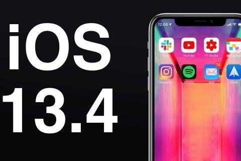 <strong><strong>iOS 13.4 </strong></strong><strong>ile Gelen Yeni Özellikler </strong>