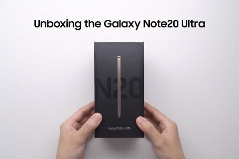 <strong>Samsung Galaxy Note 20 Ultra Resmi Kutu Açılışı</strong>