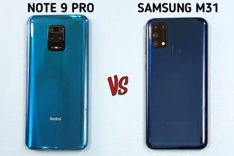 <strong>Redmi Note 9 Pro ve Samsung Galaxy M31 Karşılaştırması</strong>