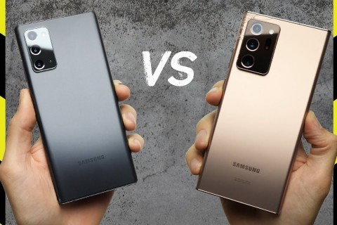 Galaxy Note 20 ve Galaxy Note 20 Ultra Düşme Testi