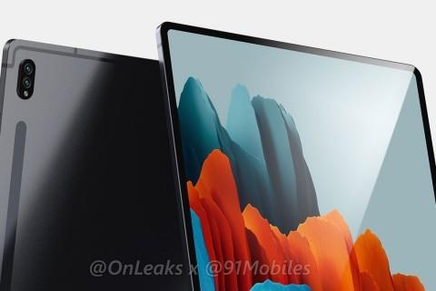 Samsung Galaxy Tab S8 Ultra Tasarımı Sızdırıldı