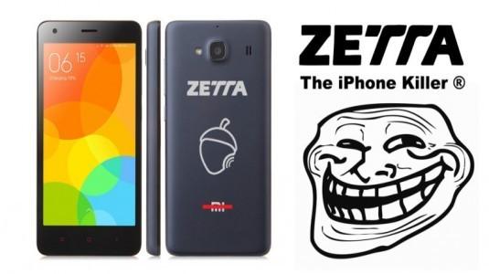 Zetta, Xiaomi Akıllı Telefonları Kendi Markası ile İphone Katili Olarak Satışa Sundu