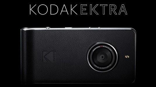 Efsane Android'den güç alarak yeniden doğdu: Kodak Ektra