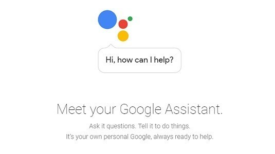 Google Asistant resmi olarak duyuruldu