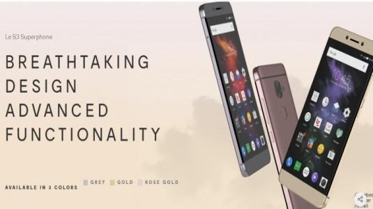 LeEco'nun Amerika Pazarına Sunacağı Cihazların Listesi Sızdırıldı