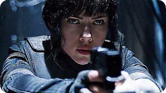 Ghost in the Shell ilk trailer geldi