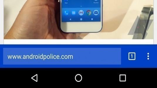 Google Chrome Tek Elle Kullanım Modu Android Platformu için Geliyor