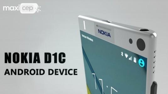 Android'li Nokia D1C, 5 ve 5.5 inç İki Versiyona Sahip Olacak