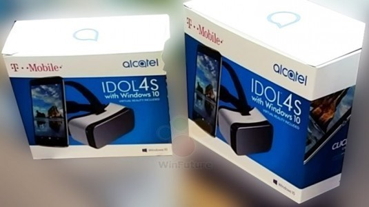 Alcatel Idol 4S VR Store Windows Store'da Göründü
