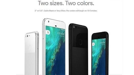 Pixel XL akıllı telefon Google Store'da tekrar stoklarda