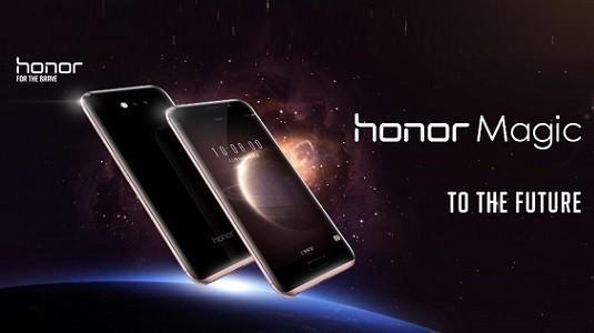 Huawei Honor Magic geleceğin akıllı telefonu olarak duyuruldu