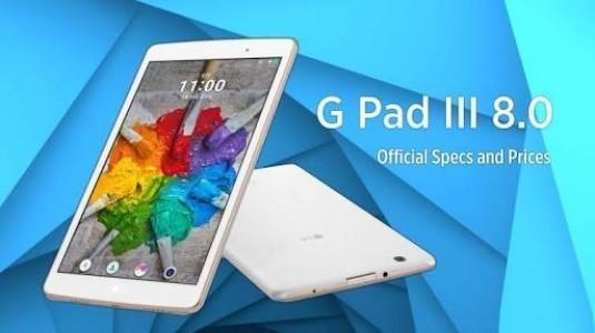 LG G Pad 3 Görseli İnternete Sızdırıldı