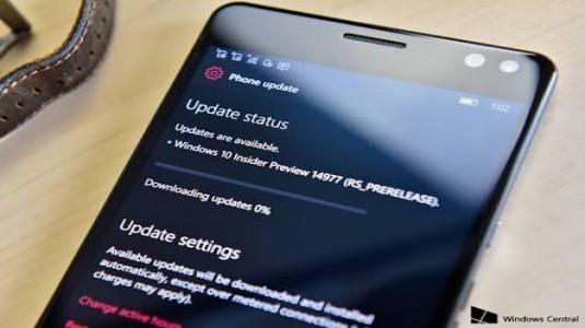 Windows 10 Mobile Yapı 14977, Insider Fast Ring Kullanıcıları için Yayınladı