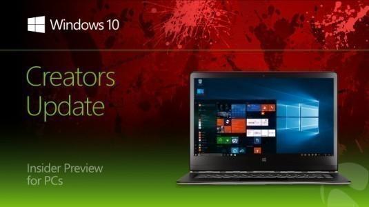 Microsoft, Windows 10 Yapı 14986 Sürümünü Insider Fast Ring için Yayınladı