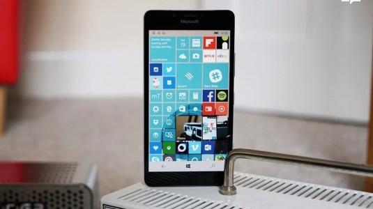 Microsoft,  Windows 10 Mobile için Yeni Bir Güncelleme Yayınladı