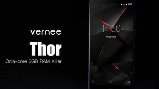 Vernee Thor için dayanıklılık testi videosu geldi