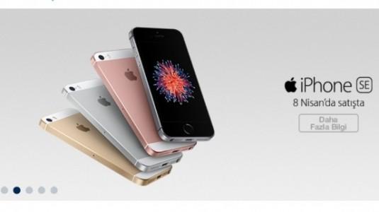Apple iPhone SE,  Türk Telekom tarafından satışa sunuldu