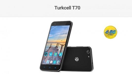 Turkcell, Yeni 4.5G Telefonu T70'i Tanıttı