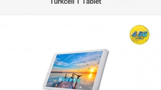 Turkcell'den 4.5G'li Tablet Duyurusu Geldi