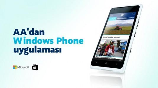 Anadolu Ajansı,  Windows Phone Telefonlar için Geliştirdiği Uygulamasını Windows Store'da Yayınladı
