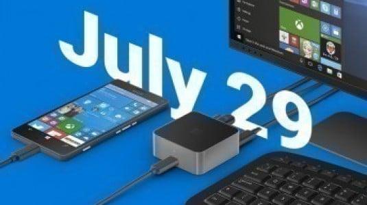 Windows 10 Mobile Redstone Güncellemesi 29 Temmuz'da Yayınlanabilir