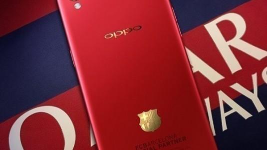 Oppo F1 Plus'ın Fc Barcelona Edition Versiyonu Özel Tasarımla Geliyor