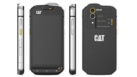 Dünyanın ilk termal kameralı akıllısı CAT S60, pazara sunuluyor
