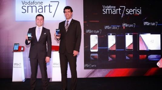 Vodafone, Smart 7 Serisi Altında 3 Yeni Akıllı Telefon Duyurusu Yaptı