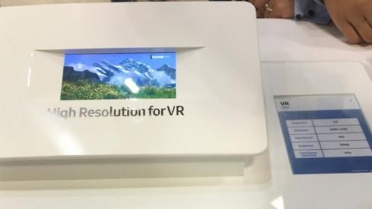 Samsung, VR için 5.5 İnç 4K Özel Bir Ekran Sergiledi