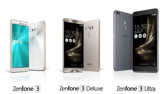 ASUS, Zenfone 3 Serisini Ultra ve Deluxe Modelleri ile Duyurdu
