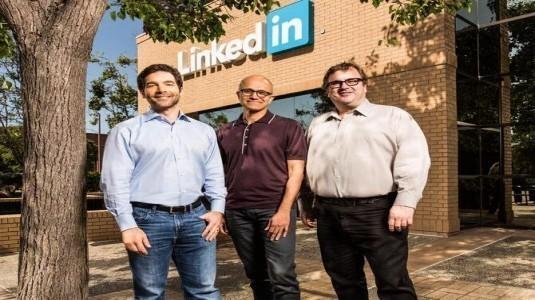 Microsoft,  Linkedin'i Satın Aldığını Duyurdu