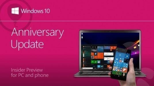 Windows 10 Yapı 14366 ve Windows 10 Mobile Yapı 14364 Yayınlandı