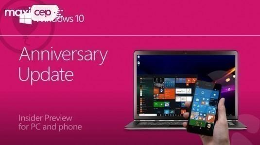 Windows Insider Fast Ring için Yapı 14367 Mobil ve PC'de Yayınlandı