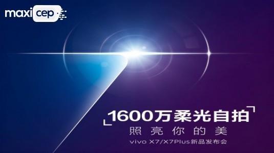 Vivo X7 ve X7 Plus'ın Tanıtım Tarihi Belli Oldu