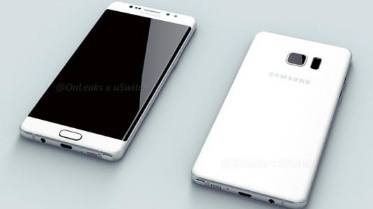 Samsung Galaxy Note 6 / Note 7 Render Görselleri Sızdırıldı