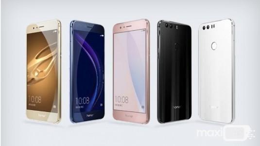 Huawei Honor 8 Resmi Olarak Duyuruldu