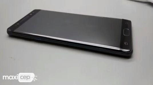 Samsung Galaxy Note 7'nin Kavisli Ekranı Görsellerde Ortaya Çıktı