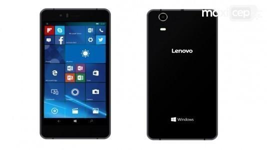 Lenovo'nun İlk Windows 10 Mobile Akıllı Telefonu Tanıtıldı