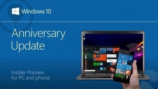 Windows 10 Anniversary Update Önizleme için Yapı 14393.3 Yayınlandı