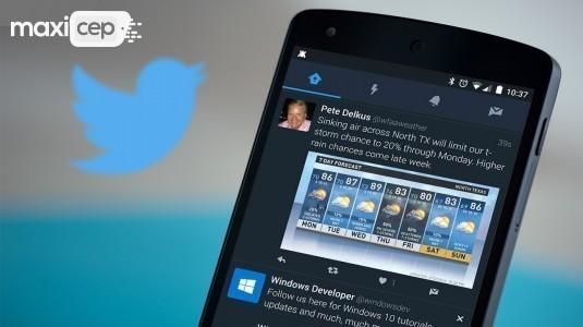 Android için Twitter Uygulaması Gece Modu Özelliği ile Güncellendi