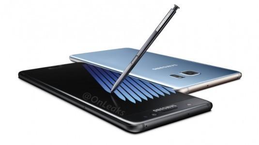 Samsung Galaxy Note 7 Basın Görselleri Sızdırıldı