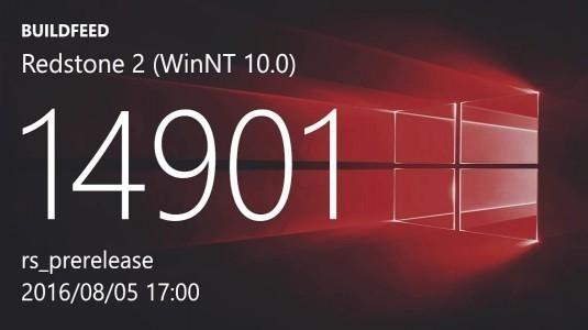 Windows 10 Redstone 2 Yapı 14901 Insider Preview Yayınlandı