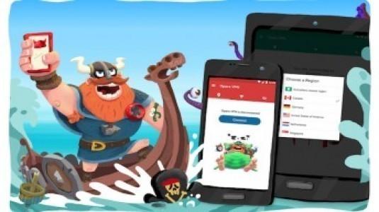 Opera Free VPN Uygulaması Android için Yayınlandı