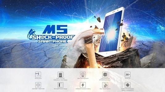 Leagoo M5 akıllı telefon ile ceviz kırın, çivi çakın