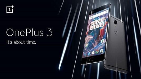 OnePlus 3 Avrupa ve Hong Kong'ta satışa sunuldu