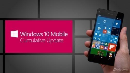 Windows 10 Mobile Yapı 14393.189 Güncellemesi Yayınlandı
